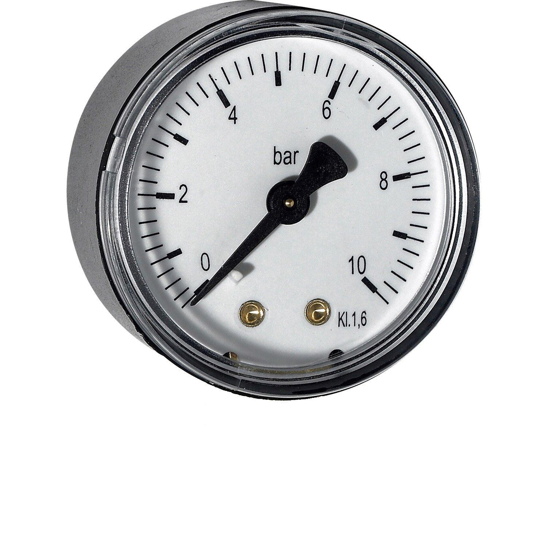 Manometer do 10 bar axial.zadný vývod priem.40mm