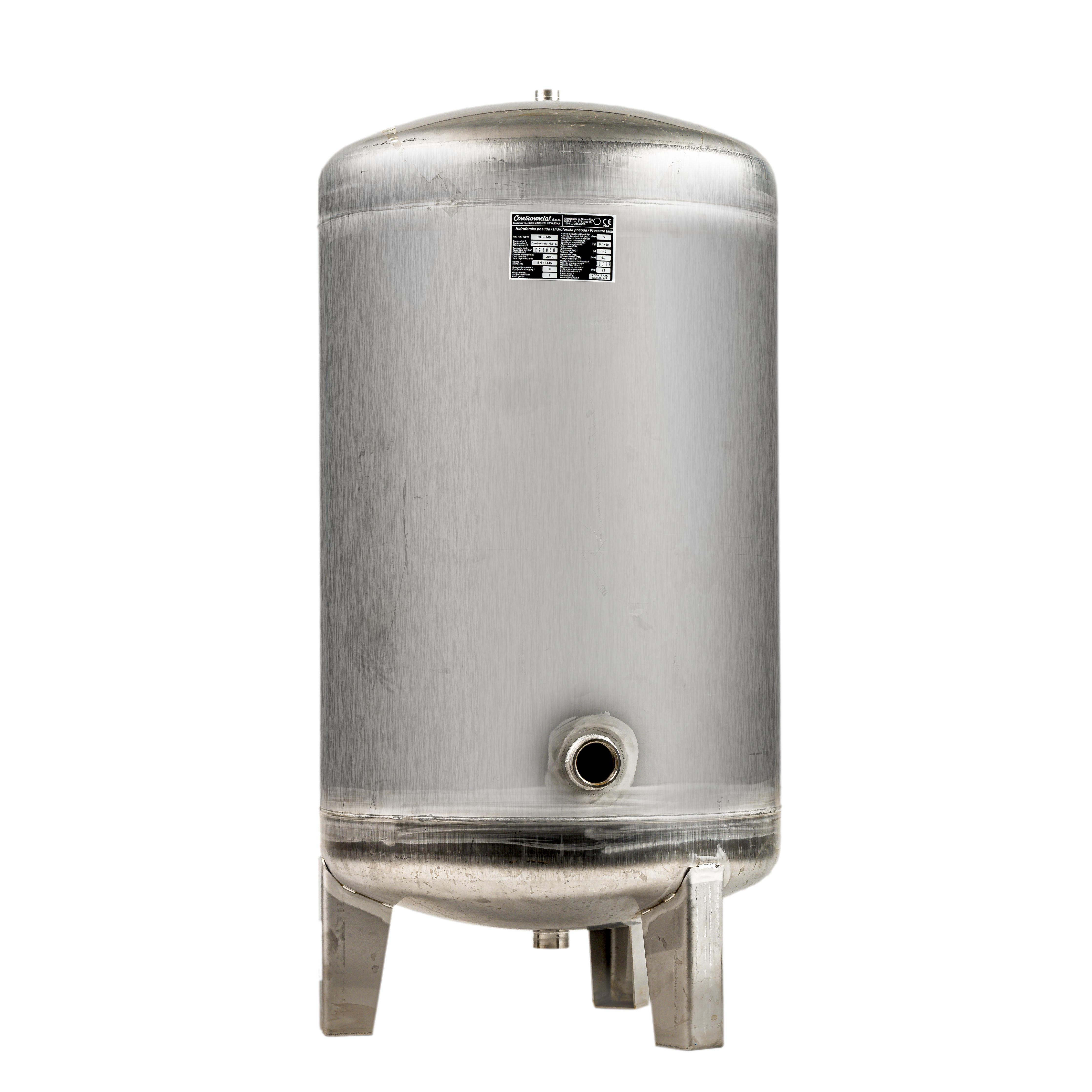 Nerezová tlaková nádoba CH 140 L
