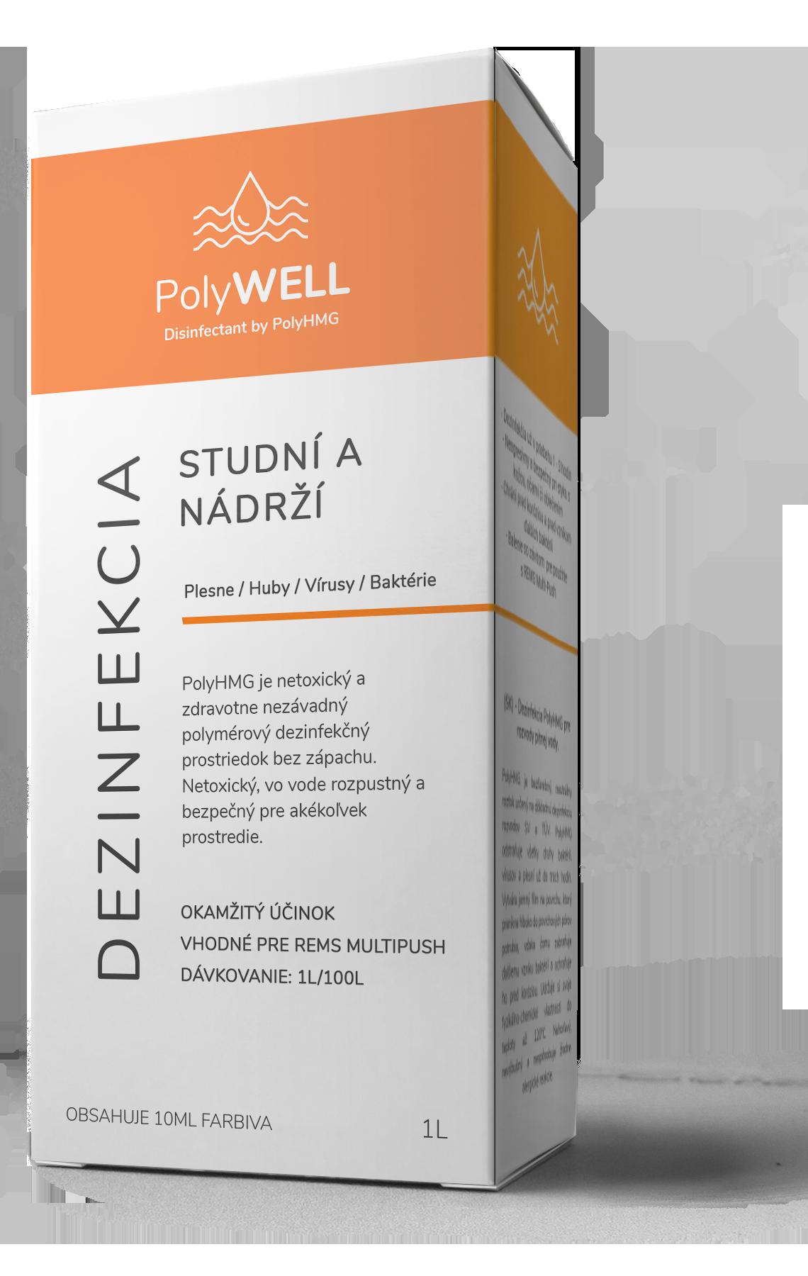 Dezinfekcia PolyHMG - PolyWELL 1l