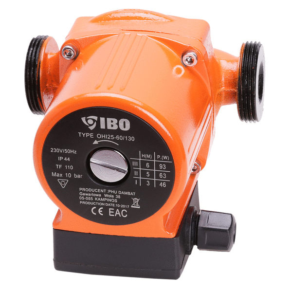 Obehové čerpadlo OHI 25-60/130