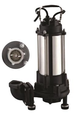 Ponorné kalové čerpadlo IBO KRAKEN 1800 DF s drtičom 400V